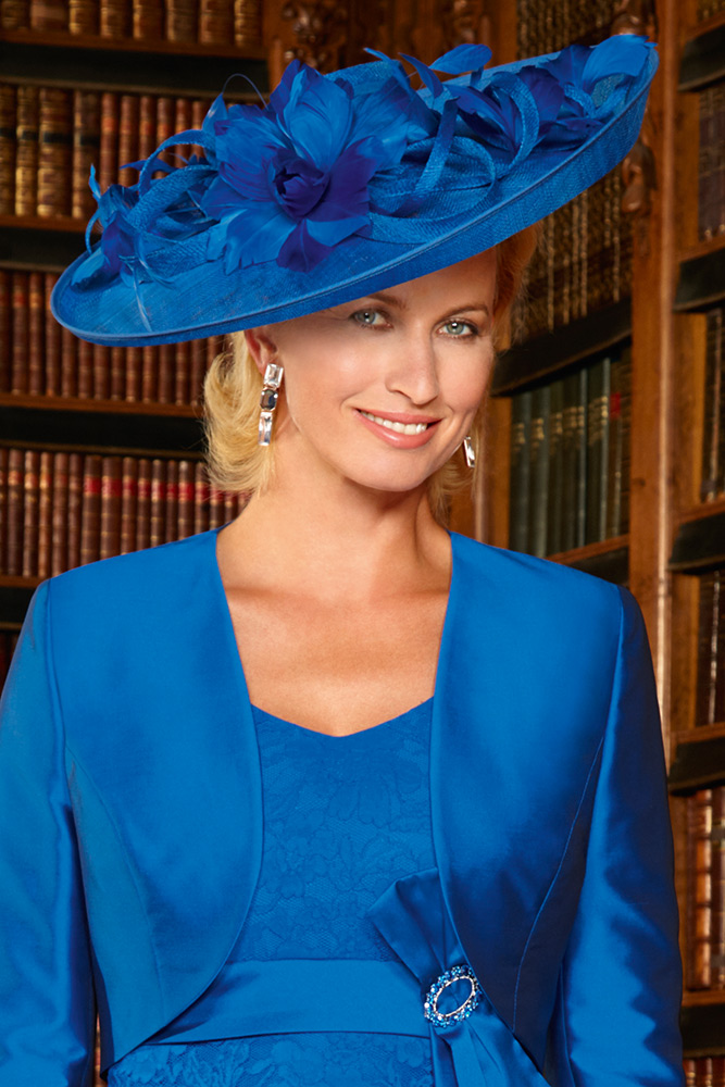 11300 - Condici Large Hatinator With Up-Turned Brim In Royal Blue 7cdf4324285
