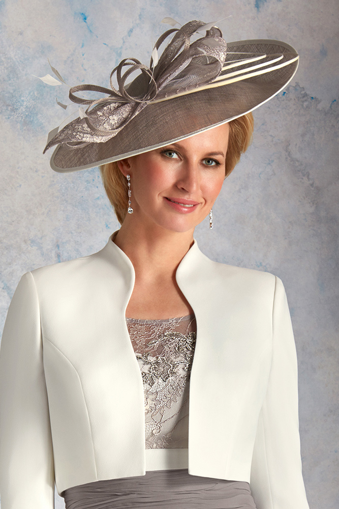 Mother of the Bride wearing a hat