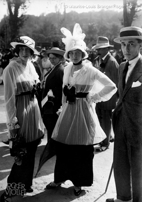 history of dresses at races 01 deauville racecourse 1913