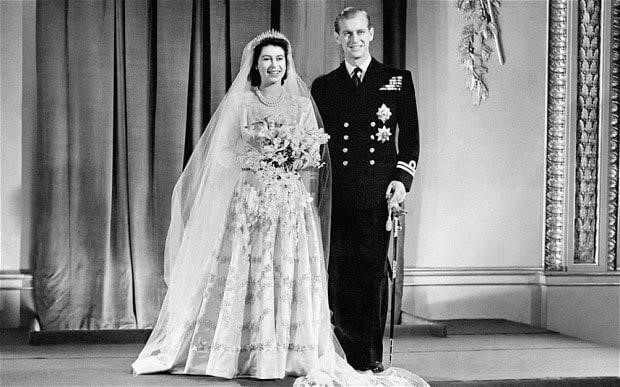 royal weddings 04 queen elizabeth prince phillip